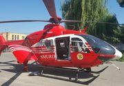 Un bărbat a murit într-un accident rutier în care a fost implicat un autoturism şi două TIR-uri; o femeie a fost rănită, fiind preluată de elicopterul SMURD
