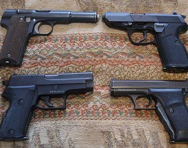 Germania va interzice exporturile de arme de mână către majoritatea ţărilor din afara...