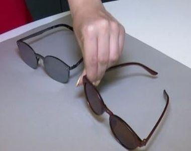 VIDEO | Ochelarii de soare ieftini, risc pentru ochi