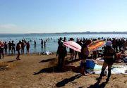 O femeie de 68 de ani a fost găsită moartă în Lacul Techirghiol