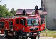 Incendiu la acoperişul UPU a Spitalului Judeţean Buzău; zeci de pacienţi şi cadre medicale, evacuaţi