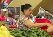 VIDEO | Piața, mai scumpă decât supermarketul