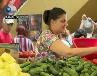 VIDEO   Piața, mai scumpă decât supermarketul