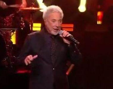 VIDEO | Tom Jones cântă diseară la Cluj. Mesajul artistului pentru fanii din România