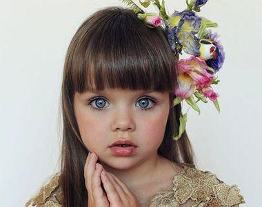 """Anastasia este numită cea mai """"frumoasă fetiță din lume"""", dar stai să vezi..."""