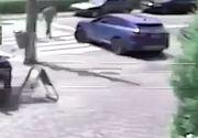 VIDEO | Tânăr ucis pe trecerea de pietoni. Imagini care vă pot afecta emoțional