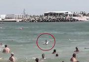 Salvamar lovit de un turist pentru că l-a chemat la mal și l-a atenționat