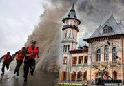 VIDEO | O furtună cu aspect de taifun a lovit Buzăul