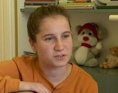 VIDEO | Povestea Alexandrei, adolescenta care e gata să înfrunte viața