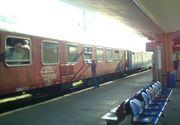 Trafic feroviar oprit temporar în vestul ţării, zeci de angajaţi intervin pentru remedierea situaţiei; opt trenuri de călători sunt afectate