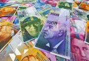 Francul elvețian, la cel mai mare nivel din ultimii 4 ani