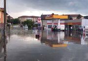 VIDEO | Râmnicu Vâlcea, inundat de o ploaie ce a durat mai puțin de o oră