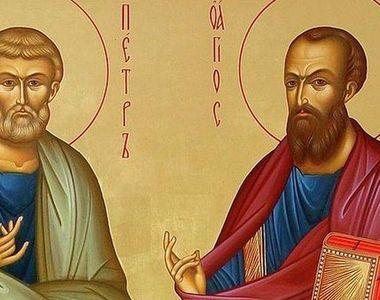 Sfinţii Petru şi Pavel. Sărbătoare mare astăzi