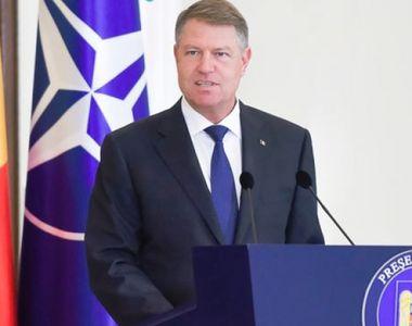 Iohannis: Sunt preşedintele României şi vreau să rămân preşedintele României, şi nu al...