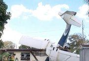 Tragedie aviatică. Un avion s-a prăbușit peste o casă