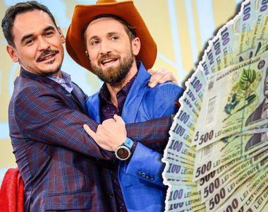 Cine câştigă mai mult din televiziune, Dani sau Răzvan? Oţil şi Simion au încasat...