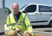 Incredibil! Stăpânul și-a lăsat câinele în mașină timp de o oră. Cum a fost găsit de poliţişti