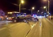 Accident grav în Cluj. O persoană rănită