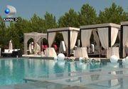 VIDEO | Tratament de VIP la piscină