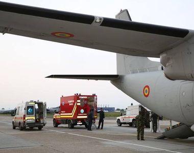 O navă Spartan a efectuat un zbor umanitar de urgenţă pentru transportul unui pacient...