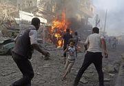 Atacuri aeriene în Siria: 15 oameni au murit