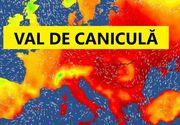 ANM: Caniculă şi disconfort termic accentuat, în cea mai mare parte a ţării; Cod galben de ploi torenţiale, vijelii şi grindină, în 14 judeţe din Moldova, Maramureş, Crişana şi Transilvania