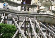 VIDEO | Castelul Peleș, în pericol. Edificiul se degradează