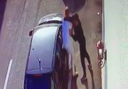 Om de afaceri bătut cu bestialitate cu ranga pe o stradă din Târgu Jiu