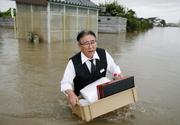 Devastator! Ploi torențiale în Japonia. Aproximativ 800.000 de oameni evacuați