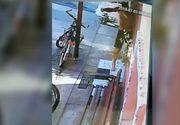 Imagini șocante surprinse de camerele video cu crima din Făget