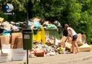 """VIDEO   Orașul ca o groapă de gunoi. Localnică: """"Aerul a devenit irespirabil"""""""