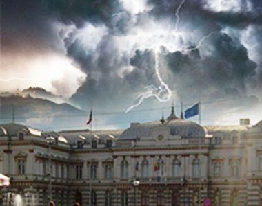 VIDEO | Imagini apocaliptice cu furtuna din Bacău