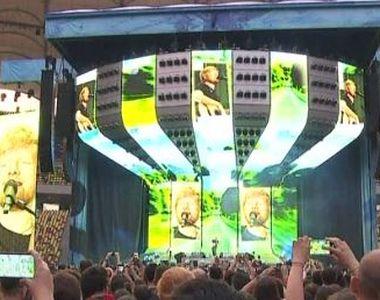 VIDEO | Ed Sheeran, concert incendiar pe Arena Națională