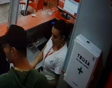 VIDEO   Jaf la o casă de pariuri din Timișoara, suspectul s-a făcut nevăzut