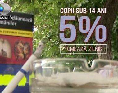 VIDEO | La ce vârstă de apucă de fumat minorii din zonele rurale și ce riscă