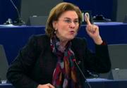 Cum a țipat Maria Grapini la Donald Tusk în plenul Parlamentului European