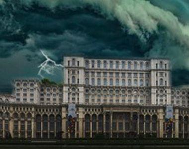 VIDEO | Capitala, lovită de o furtună violentă, urmată de o ploaie torențială