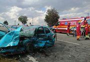VIDEO | Cinci persoane au fost rănite într-un accident rutier petrecut în judeţul Constanţa