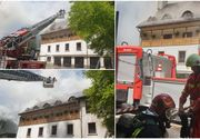 Cauza incendiului de la Mănăstirea Râmeţ a fost un scurtcircuit la un conductor electric din mansardă