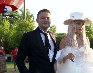 VIDEO | Alina Ceușan, nuntă de poveste. Cum a petrecut cea mai urmărită femeie din...