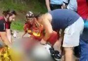 VIDEO | Turist ucis de caniculă în Bucegi