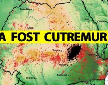 Cutremur în România! Cel mai mare din ultima perioadă
