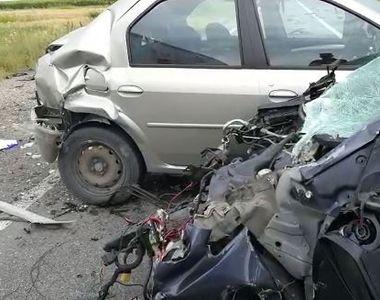 VIDEO | Plan roşu de intervenţie în Olt: Un accident cu un microbuz și cinci mașini. O...