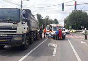 Tragedie la Suceava: Un pieton a murit după ce a fost prins sub roțile unui camion