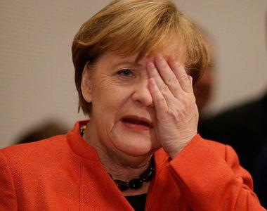 Angela Merkel, surprinsă pentru a treia oară în ultimele săptămâni tremurând - VIDEO