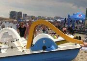 VIDEO | Șezlongurile de pe litoral, motiv de protest. Ce-i nemulțumește pe constănțeni