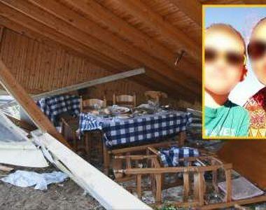 Primele imagini cu românii morți în furtuna din Halkidiki! Mama româncă și fiul ei erau...