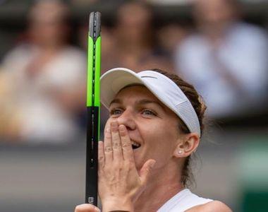 Simona Halep a câştigat primul set al finalei de la Wimbledon, scor 6-2, cu Serena...