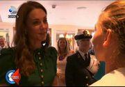 VIDEO | Simona Halep, felicitată pentru victoria de la Wimbledon de Ducesa de Cambridge, Kate Middleton