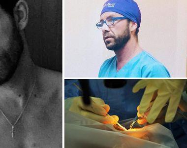 Matteo Politi, falsul medic italian, s-a apucat de sală! Uite cum arată la bustul gol FOTO
